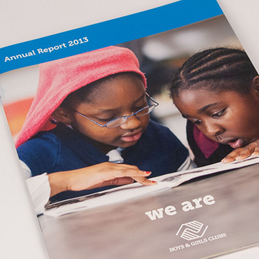 Boys and Girls Club annual report