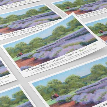 Pennsylvania Lavender Festival poster